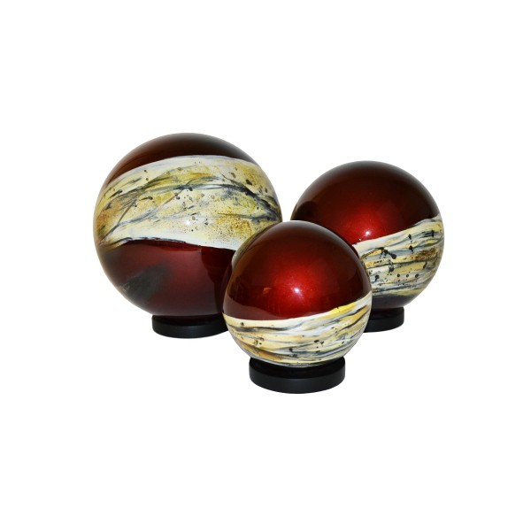 Ornamental lacquer balls - RV/BALL-002CDE/6