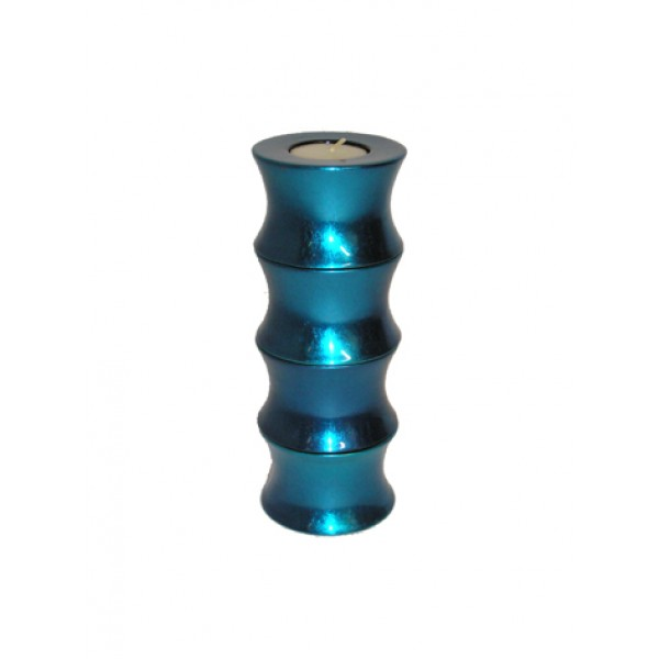 Candle holder set x4 - blue-si