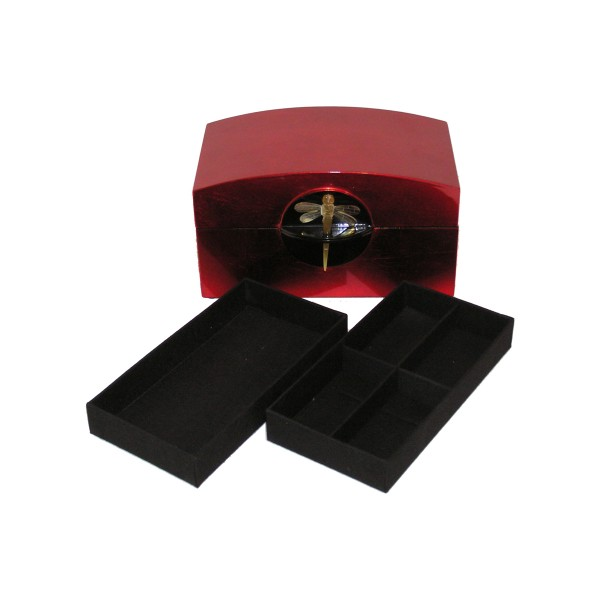 Jewelry box - rectangle red